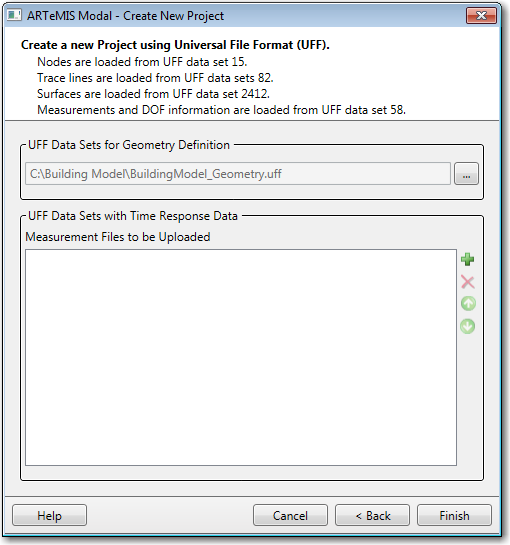Import Project using Universal File Format