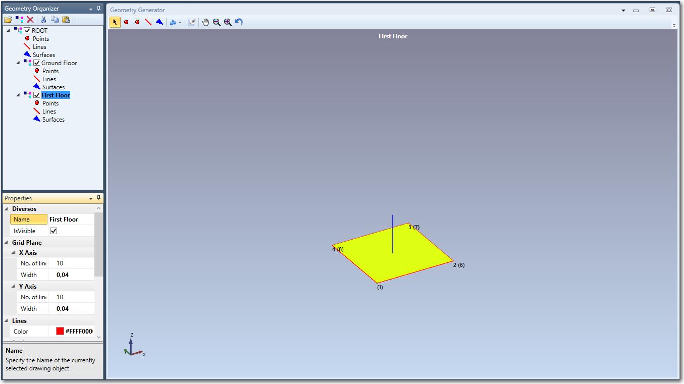 Geometry Tutorial Step 3